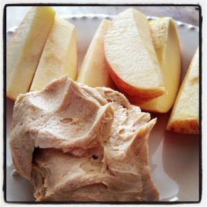 apples and dip